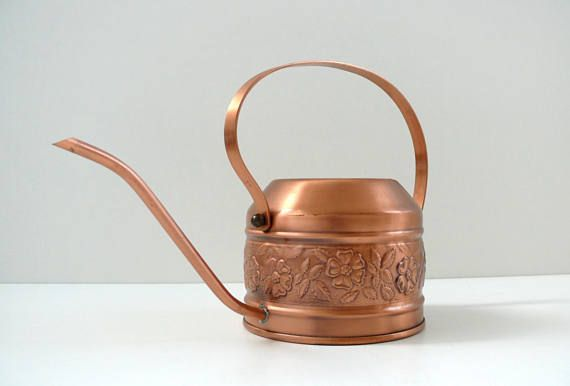 French Copper Watering Can Decorative Plant Watering Can