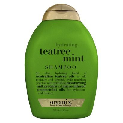 Best Shampoo: Organix Teatree Mint Shampoo. The mint smells makes me feel cleaner than I could possibly be. I love it!