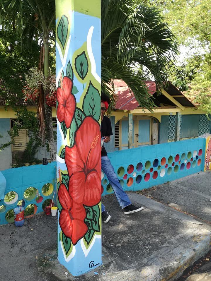 Postes De Luz Llenos De Arte Republica Dominicana Proyecto Artistico