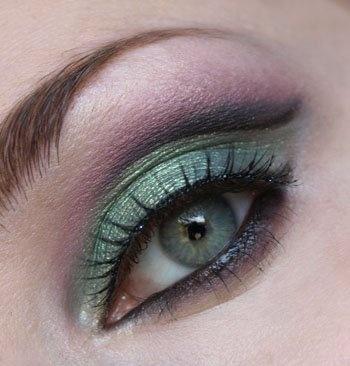 eye make up sea green | MakeUp | Pinterest