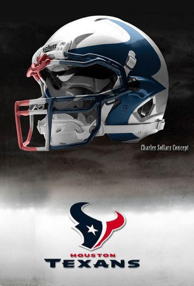 Charles Sollers NFL Concept Helmets - Gallery