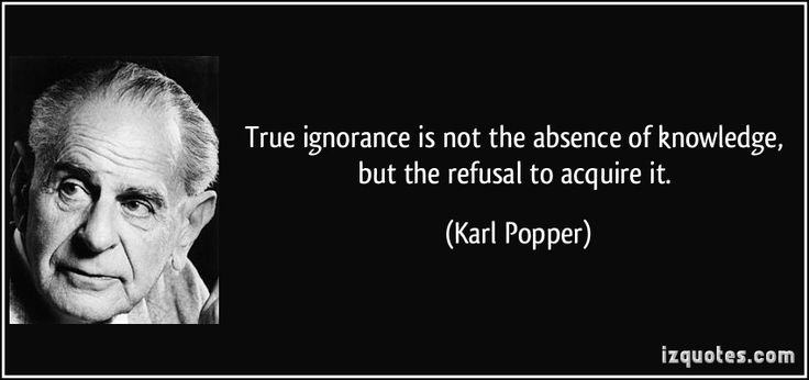 KNOWLEDGE AND IGNORANCE Quotes Like Success