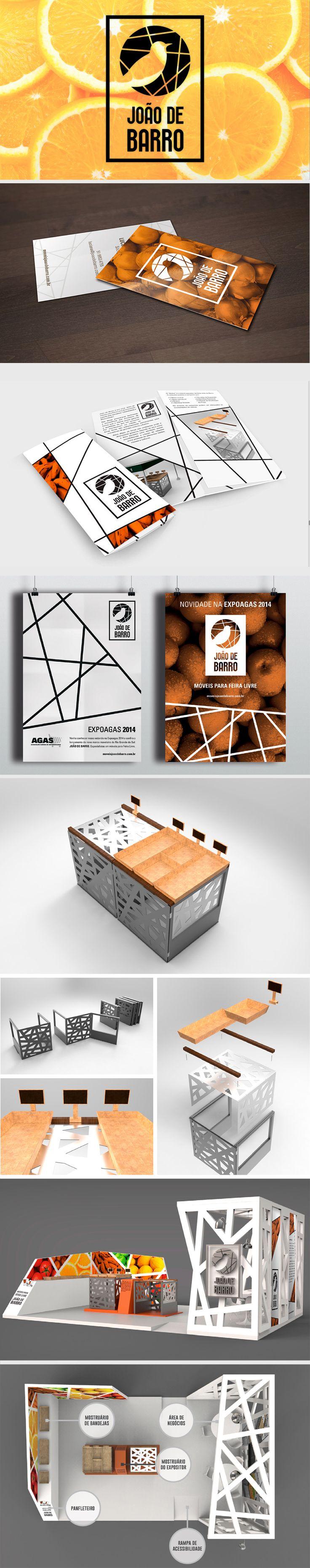 João de Barro - Branding, Product and Exhibition Design // Design by Henrique Monteiro, Camila Ozio and Luciana Hikari // Integrated Project 2  // Universidade Federal do Rio Grande do Sul // Prof. Fabiano Scherer