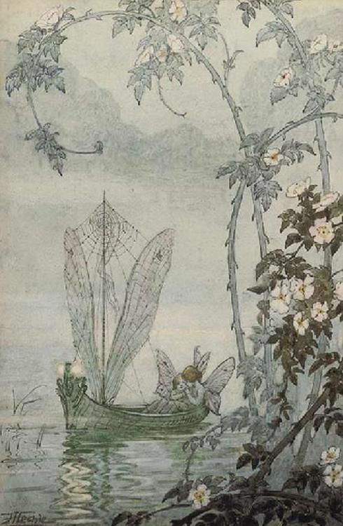Probably one of my all time favorite faerie pictures.. http://weavingspidercomenothere.tumblr.com/