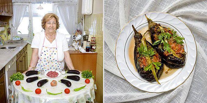 Φωτο-ταξίδι γεύσεων σε όλο τον κόσμο με σεφ... γιαγιάδες! Τουρκία, Karniyarik (γεμιστές μελιτζάνες με κιμά και λαχανικά)
