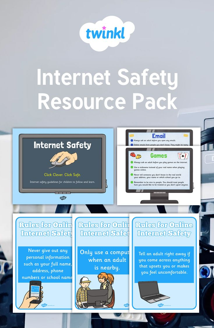 A Resource Pack Designed To Highlight Safer Internet Day Safe Internet Internet Safety Games Resources