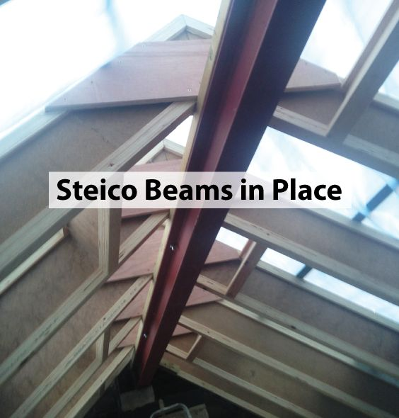 In the last post, we figured out the correct height and angle for the new roof, inpreparation for the roof beams. These Steico beams aren't easy to fit at all. Afterdiscussions with the architect it tookages for the builders to measure and discussfixings, and then measure again. This has to …