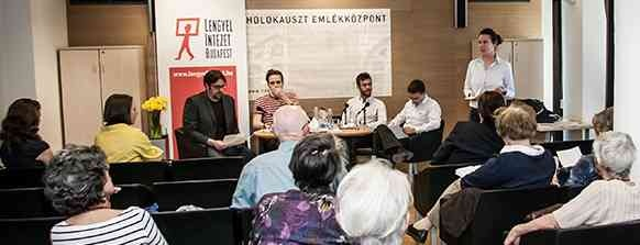 Round table discussion at the Holocaust Memorial Center Budapest at the 70th anniversary of the Warsaw uprising. Photo PaweL Karnowski / Kerekasztal beszélgetés a varsói felkelés 70-ik évfordulója alkalmából