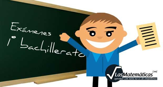 Exámenes de Matemáticas aplicadas a las Ciencias Sociales I (1º de Bachillerato) – Matematicas secundaria y bachillerato