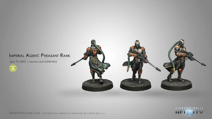 Imperial Agent, Pheasant Rank (MULTI Sniper Rifle)