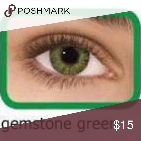 GEMSTONE GREEN FRESHLOOK CONTACTS❤️✨ New gemstone green freshlook contacts   3 tones color contact lenses   Non prescription   Contacts expire 03/19  Does not include lenses case  For more colors please check my listings! ❤️❤️❤️  I'm not responsible for any lost or damage package❗️❗️❗️  Price it's firm! No holds or trades! Any comments asking to lower my price will be ignored!!!   I DO SHIPPINGS EVERY SATURDAY SO WHATEVER SALE I DO AFTER FRIDAY MIDNIGHT WILL SHIP IT UNTIL NEXT SATURDAY OR…