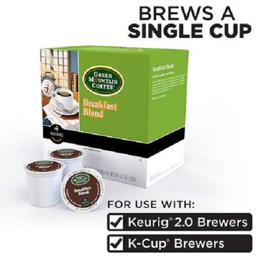 Green Mountain Breakfast Blend 100% Arabica Coffee Keurig K-Cups 160-Count #GreenMountainCoffee