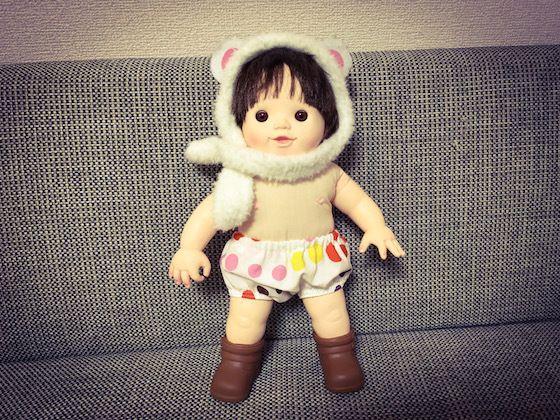ぽぽちゃん用の下着「ぶかぶか感が可愛いかぼちゃパンツ」を作ってみた!  ぽぽちゃんの通常セットにはパンツやオムツが付いていません。 1才11ヶ月の娘にいつも裸にされている我が家のぽぽちゃん。あまりにも不憫なぽぽちゃんのために、パンツを作ってあげることにしました。 幼…