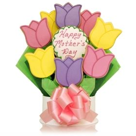 Tulips Cookie Bouquet