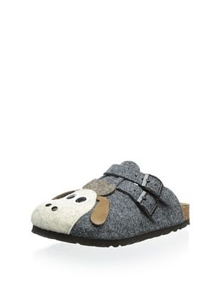 65% OFF Birki's Kid's Felt Sheep Clog (Grey)