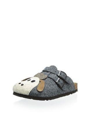 65% OFF Birki's Kid's Felt Sheep Clog (Grey)