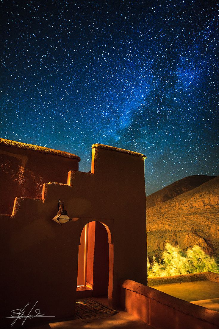 Milky Way in Ouarzazate, Morocco.I want to go see this place one day.Please check out my website thanks. www.photopix.co.nz
