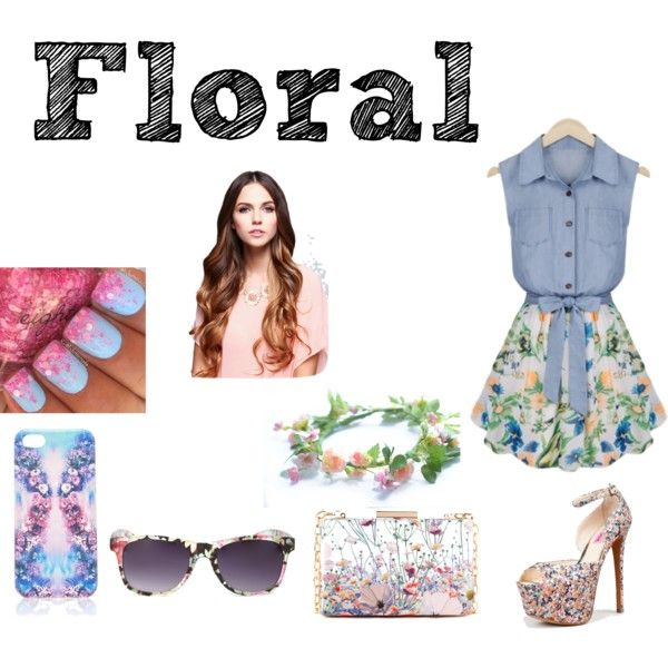 """""""Floral"""" by nigina-gina on Polyvore"""