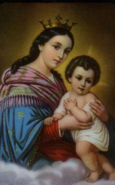 Virgen Refugio de pecadores y consoladora de los afligidos, ruega por nosotros!!!