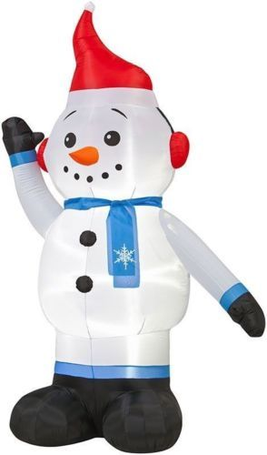9 best Christmas Inflatables images on Pinterest Yards, Penguins - christmas blow up decorations