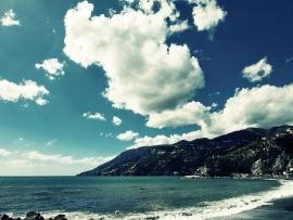 Beach Clouds wallpapers | Free Desktop Wallpapers