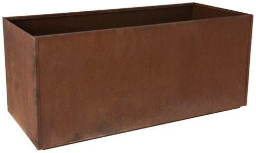 Trough Metal Corten Steel Planter Box Rust Extra Large Rectangle | eBay
