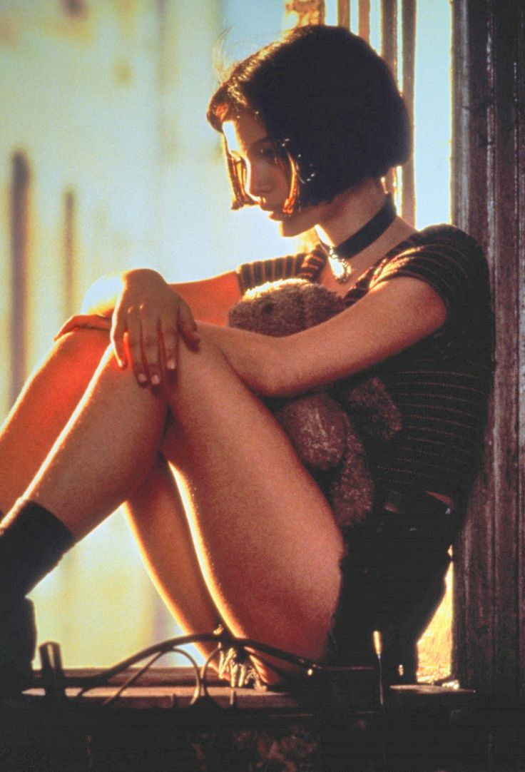 Léon: The Professional - Natalie Portman. A mature soul in a childish body. Outstanding performance.