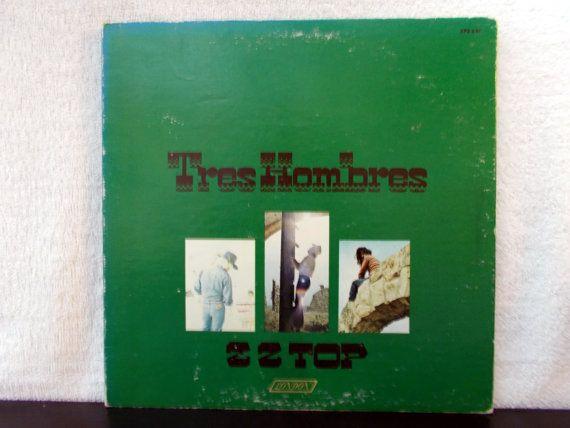 Zz Top Tres Hombres Vintage 1973 Vinyl Lp 33 By