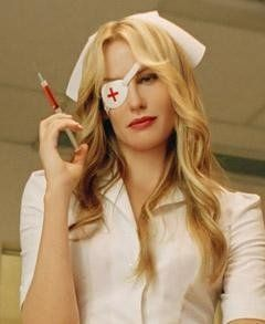 One of the easiest and most effective costumes you can put together in a hurry. The Evil Nurse, AKA Elle Driver from Kill Bill. Anyone who has...
