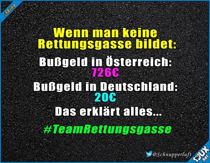 Bildet Rettungsgassen #Rettungsgasse #Deutschland #TeamRettungsgasse #Lebensretter
