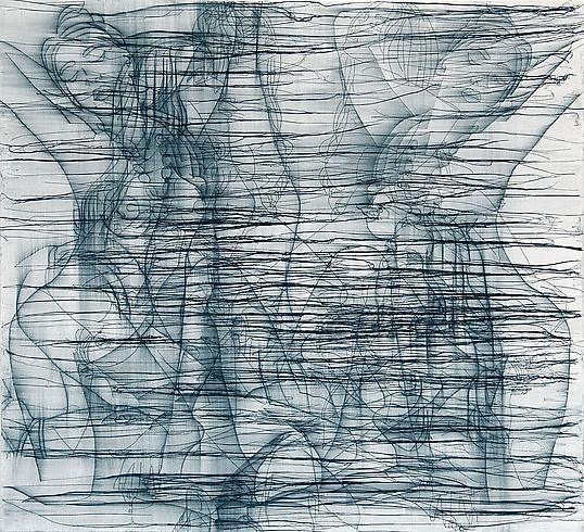 Ghada Amer – THE WOMAN WHO FAILED TO BE SHEHRAZADE, 2008