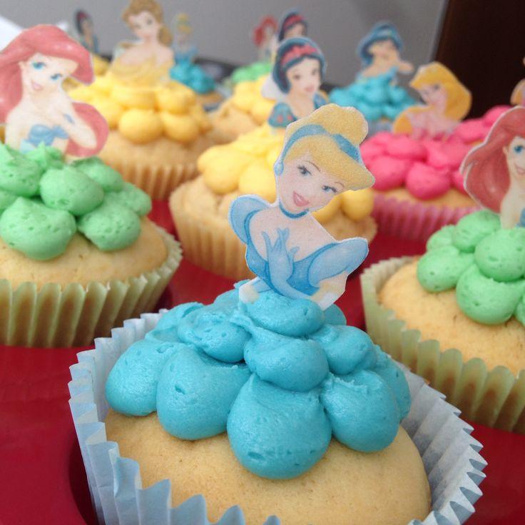 Princesscupcakes Cinderellacupcakes Snowwhitecupcakes