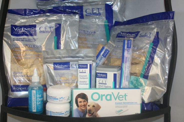 Some of our favorite dental products are shown here. #AnimalHospital #Veterinarian #Pets #KAH #FrederickMaryland #KingsbrookAnimalHospital #Vet #Dentistry #PetDentalHealth #OralCare #DentalProducts