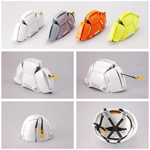 Bloom Foldable Helmet by Toyo Safety | White Rabbit Japan