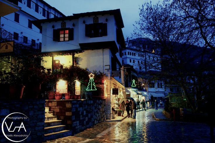 Landscapes at Pelion Makrinitsa Vasilis Alexadratos Χριστούγεννα 2014, ταξίδι στη στολισμένη Ελλάδα