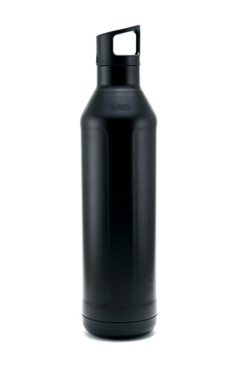 Matte Black Insulated MiiR! Each MiiR provides one person with clean water for an entire year, one4one.