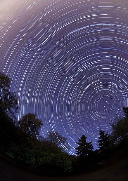I chose this photo as something that interested me because we are currently doing the motion project and this is a long exposure photo of the stars. It fascinates me how it catch the light and path trajectory of each star.   http://www.photographymad.com/pages/view/long-exposure-star-trail-photography  Zoltán Bánfalvy