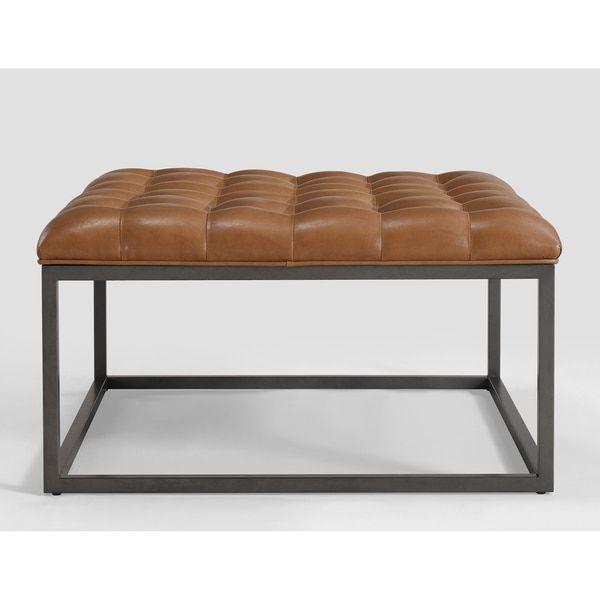 Best 25 Leather Ottoman Coffee Table Ideas On Pinterest Leather Coffee Table Tray For