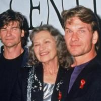 Don and Patrick Swayze with their mom?