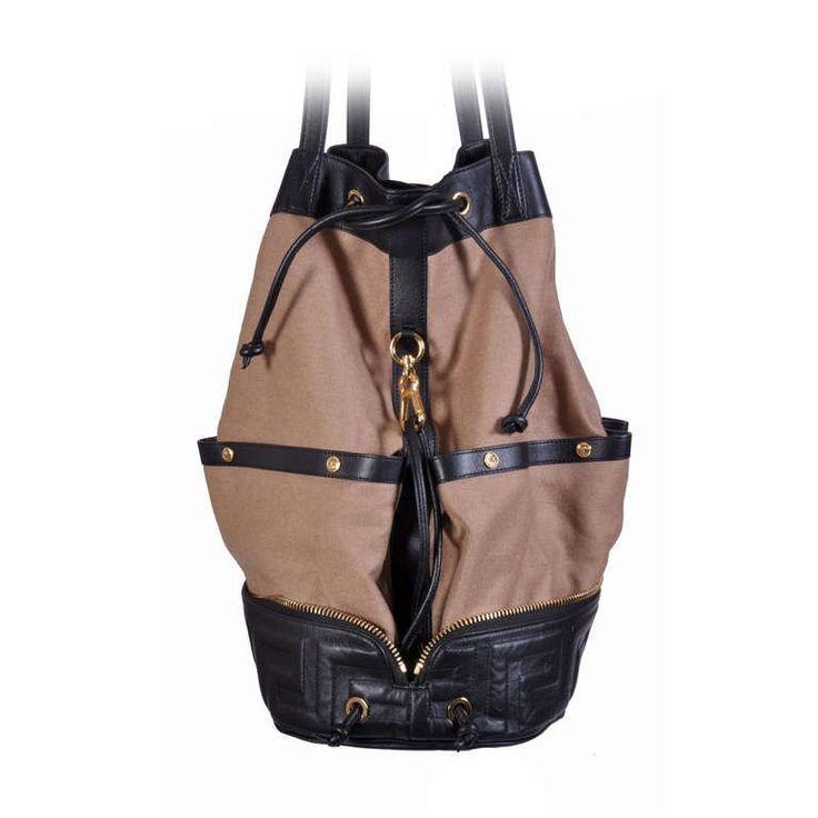 New VERSACE Men's Foldable Travel Handbag | 1stdibs.com