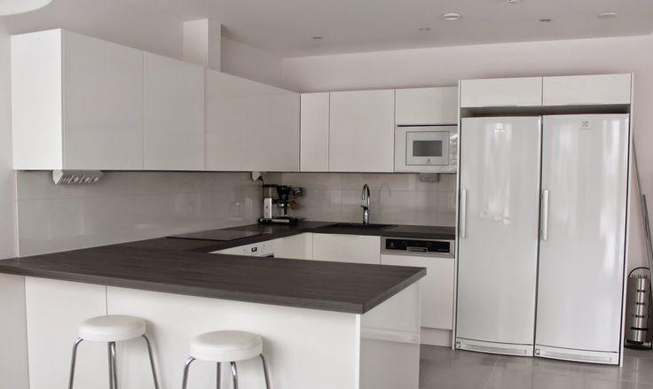 Pienen asunnon keittiö