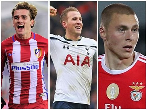 Từ Griezmann đến Harry Kane ai sẽ là tân binh tiếp theo của Man United?