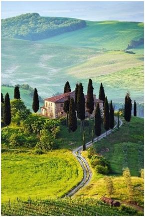 Toscaanse rustiek woning