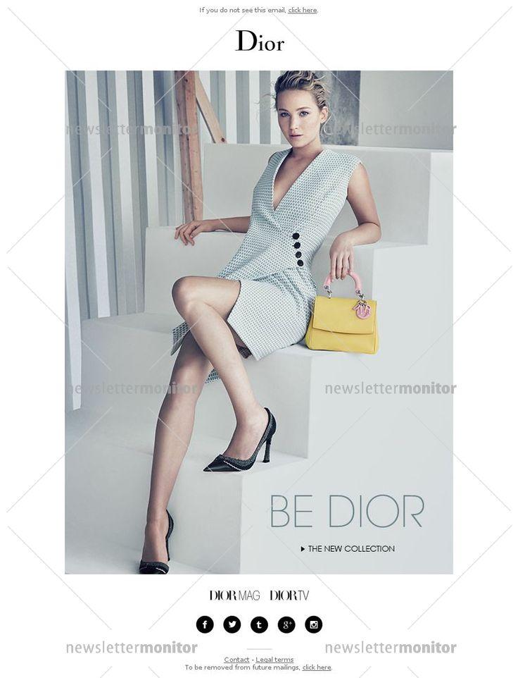 Jennifer Lawrence unveils the Be Dior bag