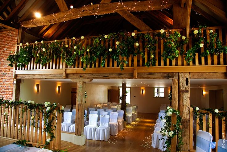 The Barn at Bury Court - Barn Wedding Venue in Surrey #weddingvenue #surreywedding #barnwedding