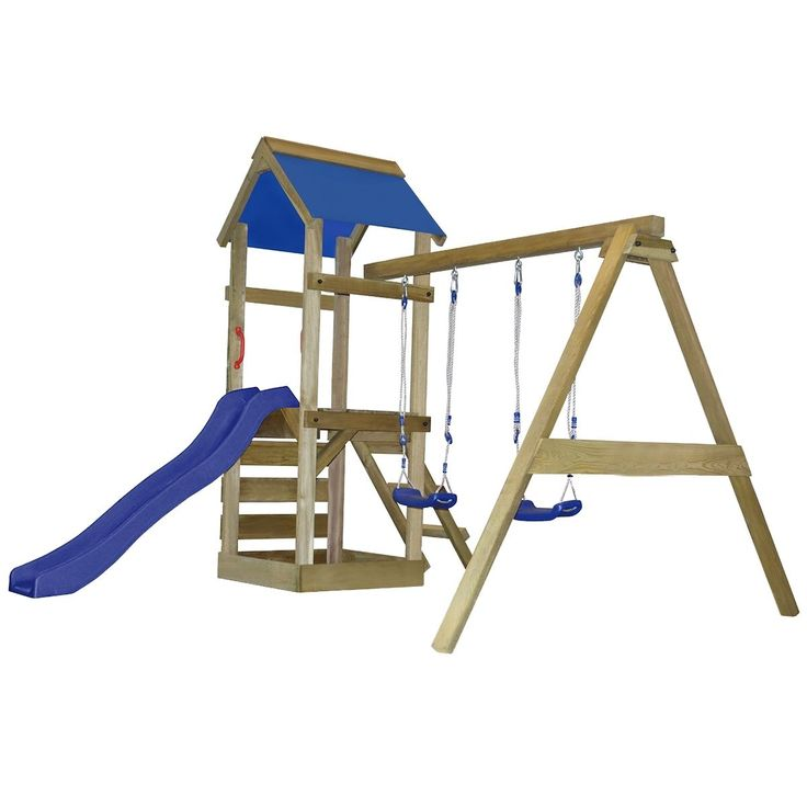 swing / slide set diy build inspiration