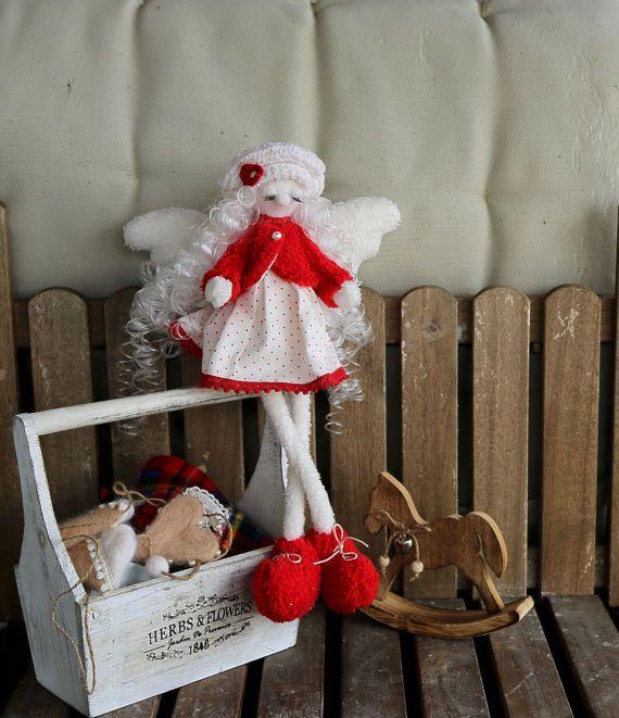 Angel doll Fairy dreams. Interior doll. Original