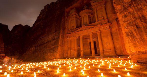 Khazneh à Pétra : un trésor enfoui dans l'une des nouvelles merveilles du monde