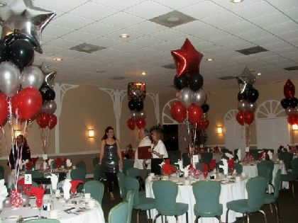 28 best images about class reunion decorating ideas on for Balloon decoration classes
