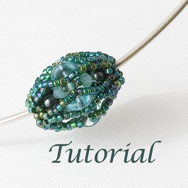 Beading Beaded Bead Tutorial
